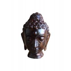 """Statuette """"Tête de Bouddha"""""""