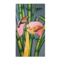 Tableau Bambous et Oiseaux...