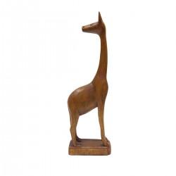 """Statuette bois """"Girafe"""""""