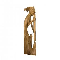 """Statuette bois """"Joueur de..."""