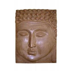 """Panneau """"Face de Bouddha"""""""