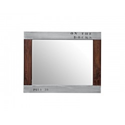 "Miroir Docker Plate ""On the..."