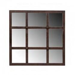 """Miroir  carré""""Cathédrale"""""""