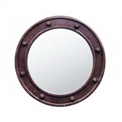 Miroir Rond avec Ecrous
