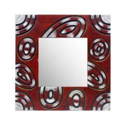 """Miroir encadrement """"Rouge &..."""