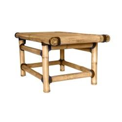 Table mi Basse en Bambou