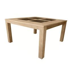 Table Haute Teck et Résine