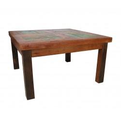 Table Basse en Bois de Bateau