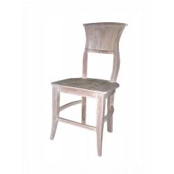 "Chaise ""Bois Blanchi"""